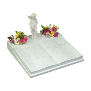 Childrens Marble Desk with Book Memorial