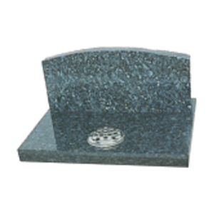 Blue Pearl Granite Cremation Tablet