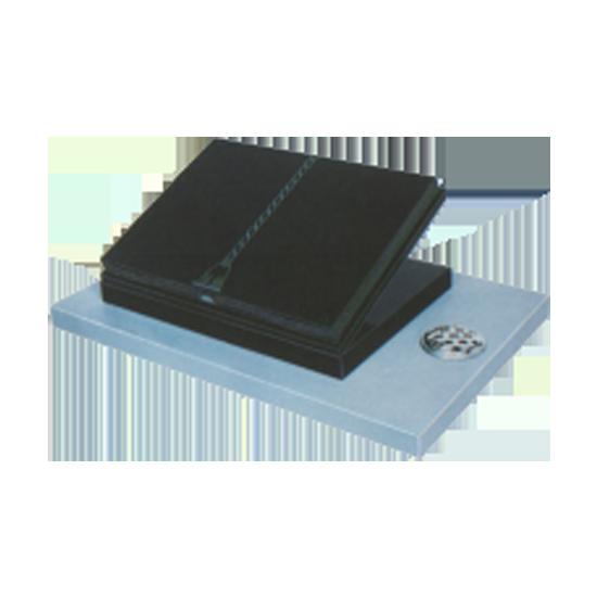 Black Granite Cremation Tablet