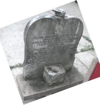 Marble Memorial Before Renovation